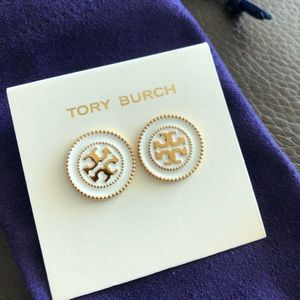 Tory Burch Double Circle Stud Earrings